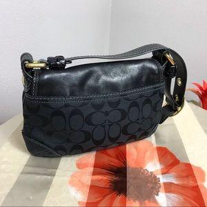 Vintage small signature Coach purse